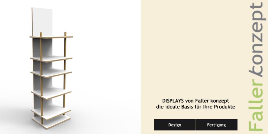 Verkaufständer aus Holz für Lebensmittel - modularer Aufbau - Faller konzept Freiburg